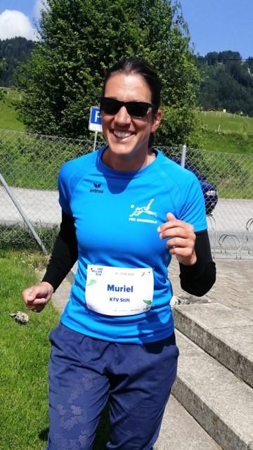 Muriel Schönbächler, Sportlehrerin an der Stiftsschule Einsiedeln