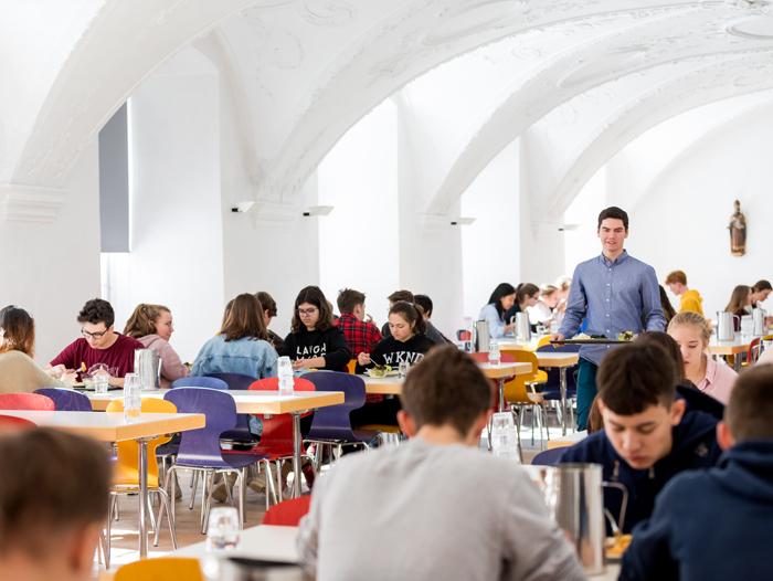 Stiftsschule Einsiedeln | Campus | Mensa