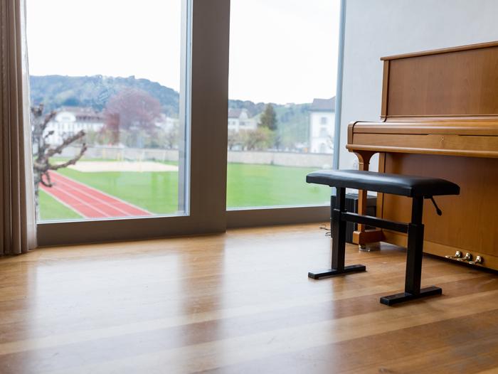 Stiftsschule Einsiedeln | Campus | Musikkojen
